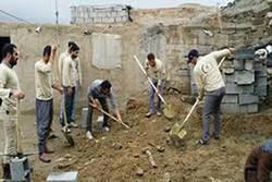 مشکلات سایت جدید روستای سیل زده «چم شیر» سیروان حل می شود
