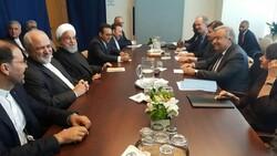 صدر حسن روحانی کی اقوام متحدہ کے سکریٹری جنرل سے ملاقات