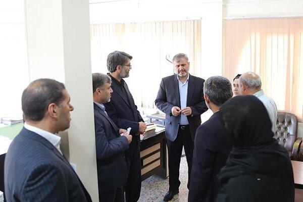 بازدید سرزده دادستان تهران از دادسرای ناحیه ۳۸ جرائم امنیت اخلاقی