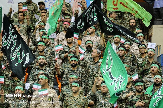 رزمایش آمادگی گردانهای بیت المقدس استان بوشهر برگزار شد