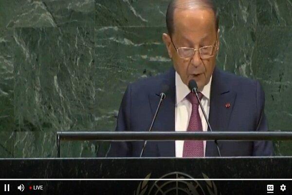 میشل عون:آوارگان خطر جدی برای لبنان هستند