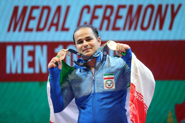 Iran's Dehdar claims bronze at IWF World C'ships