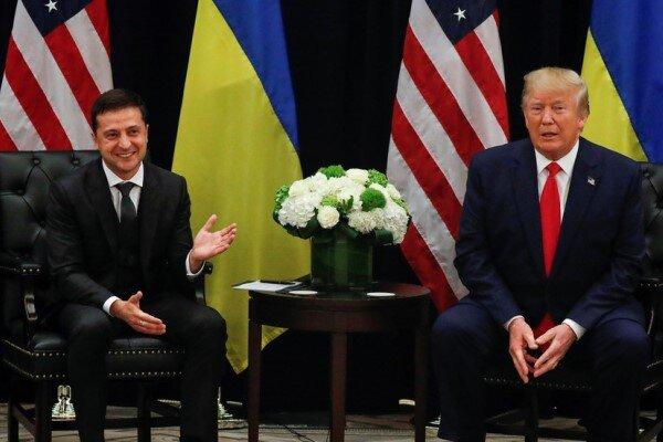 کاخ سفید متن اولین گفتگوی تلفنی ترامپ و زلنسکی را منتشر کرد