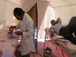 پایان کار بیمارستان صحرایی در شلمچه با ثبت ۹۶۵۶۴ مراجعه کننده
