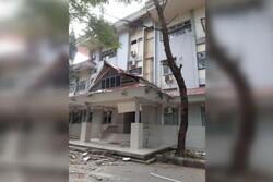 زلزله ای با قدرت ۶.۸ ریشتر جزیره «سرام» اندونزی را لرزاند