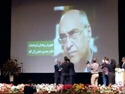 مفاخر پزشکی شهر کرمانشاه تجلیل شدند