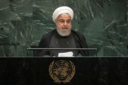 صدر حسن روحانی کا اقوام متحدہ کی جنرل اسمبلی سے خطاب