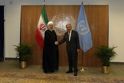 """روحاني وغوتيريش يبحثان """"مبادرة هرمز للسلام"""" وعدد آخر من القضايا"""
