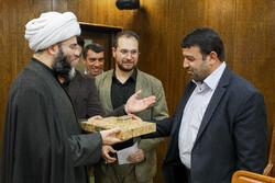سازمان تبلیغات اسلامی کے سربراہ کی شہداء کے ممتاز فرزندوں سے ملاقات