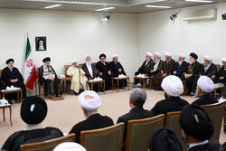 Leader's meeting with top clerical body