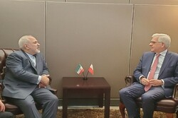 Zarif meets with Polish counterpart on sidelines of UNGA in NY