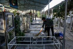 شہداء کے مزار سے غبار صاف کرنے کی تقریب منعقد