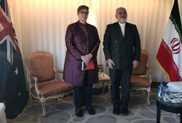 Iran, Australia FMs meet in New York