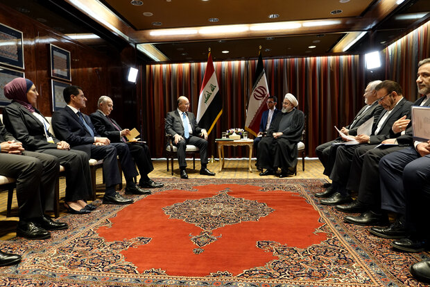 Iraq welcomes Iran's HOPE initiative: Barham Salih