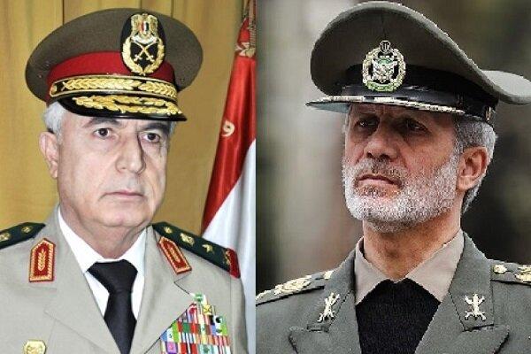 İran Savunma Bakanı Suriyeli mevkidaşı ile telefonda görüştü