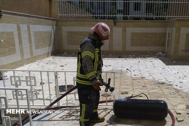 وقوع انفجار منزل مسکونی در منطقه گلشهر سمنان/ ۱۱ نفر مصدوم شدند