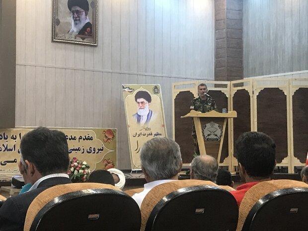 یادواره ۳۹ هزار شهید سرباز سراسر کشور در شیراز برگزار شد