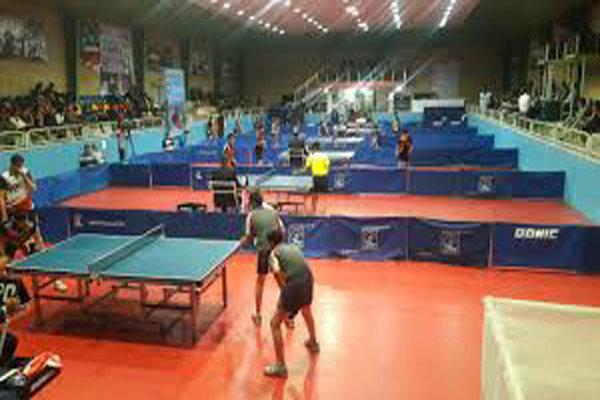 رقابت های تنیس روی میز «تور ایرانی» در قزوین آغاز شد