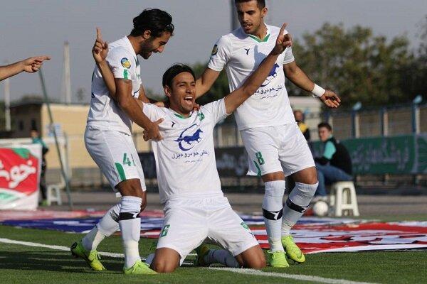 پیروزی ماشین سازی برابر شاهین بوشهر در یک بازی پرگل
