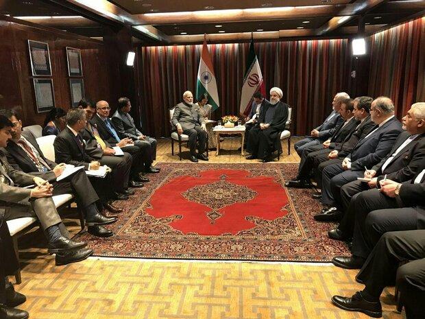 Rouhani calls for settling Kashmir issue