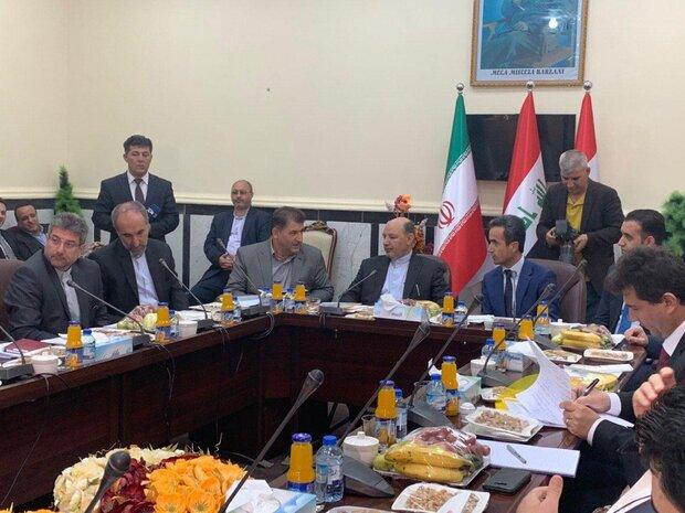 نشست مرزی مابین مقامات اقلیم کردستان و آذربایجان غربی برگزار شد