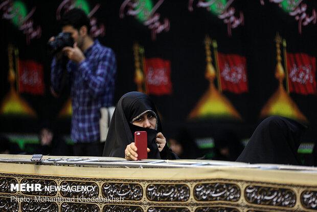 شب سوم مراسم جلوه حسین (ع) در فرهنگ سرای رسانه