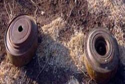 کشف سلاح و مهمات برجای مانده از تروریستها در حومه حماه