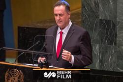İsrail Dışişleri Bakanı BM'de boş sandalyelere konuştu!