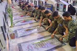 غبارروبی و عطرافشانی قبور مطهر شهدا در بوشهر