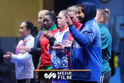 نظرات پریسا جهانفکریان پس از حضور در وزنهبرداری قهرمانی جهان
