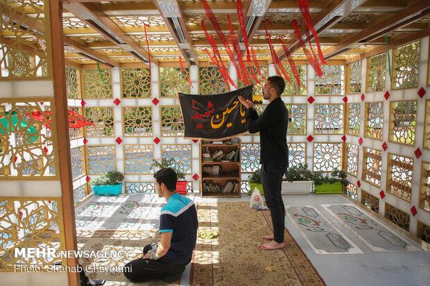 ستاره هایی که پروای نام ندارند- گلزار شهدای گمنام بوستان فدک