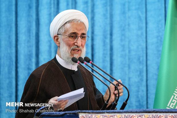 خطيب طهران: الشعب الإيراني أغلق باب المفاوضات مع أميركا إلى الأبد