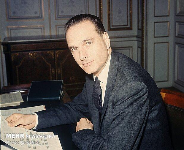ژاک شیراک رئیس جمهوری اسبق فرانسه