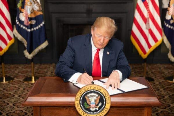 ترامپ:اقدامات من علیه ایران مهمترین اقدام آمریکا برای اسرائیل است