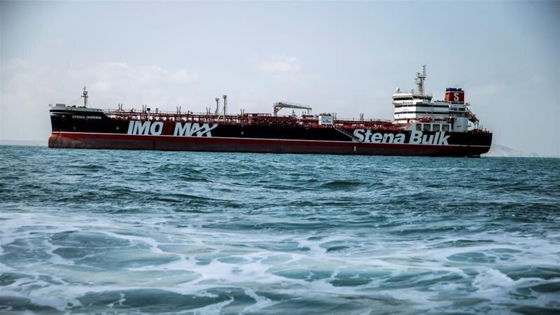 Seized British oil tanker leaves Iranian port