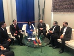 Iran's Zarif meets with counterparts in New York