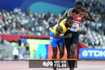 VIDEO: Sportsmanship fully displayed as runner helps exhausted rival cross finish line