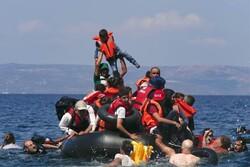 واژگونی قایق مهاجران در آبهای یونان/ هفت زن و کودک غرق شدند