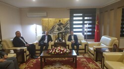 Iran, China consul generals in Erbil discuss bilateral ties