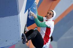 بانوی سنگنورد ایران از صعود به فینال بازماند