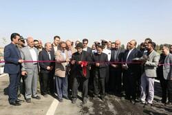 محور محمد آباد به شهرک طرق بعد از هفت سال بازگشایی شد