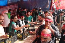 زنجانی ها با ۲۳ موکب در کشور عراق خدمات رسانی می کنند