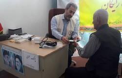 استقرار تیم تخصصی درمانی در روستای چنارمحمودی
