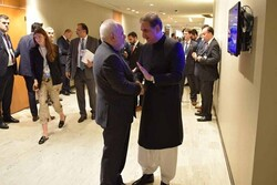 FM Zarif meets with Pakistani counterpart in New York for 2nd time