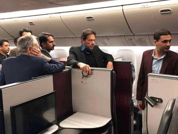 عمران خان يغادر اسلام اباد قاصدا طهران