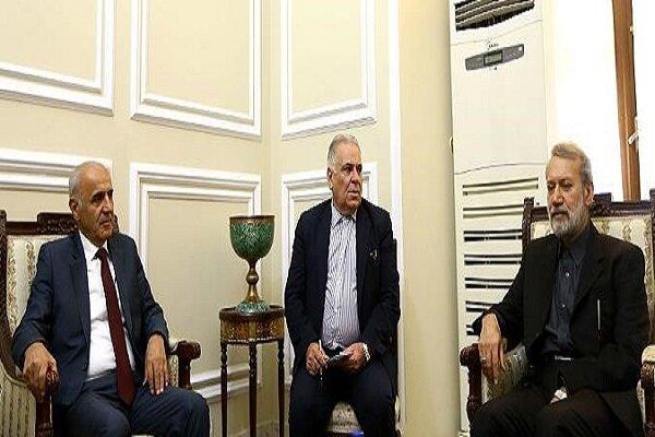 لاريجاني يشيد بمواقف جمهورية ارمينيا تجاه ايران في الجمعيات الدولية