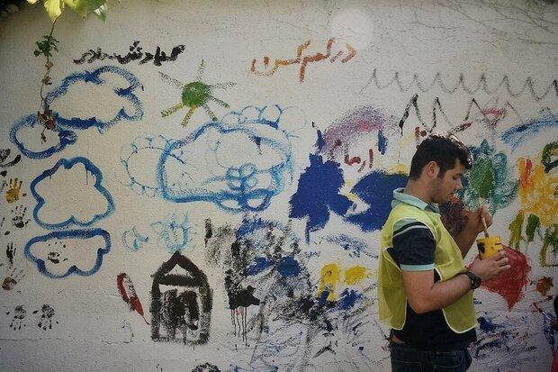 برگزاری همایش نقاشی کودکان اوتیسم در بوستان کودک منطقه ۲