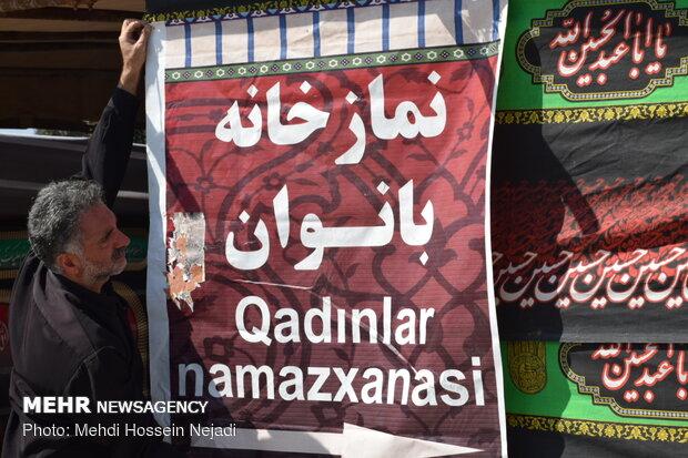 İran-Azerbaycan sınırında Kerbela zairleri karşılanacak