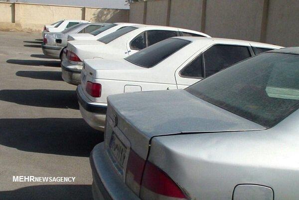 توقیف ۴۰دستگاه خودروی فاقد پلاک در ایلام