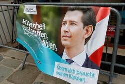 حزب «سباستیان کورتز» پیشتاز انتخابات اتریش